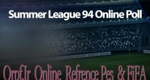 نظرسنجی لیگ آنلاین PES و FIFA تابستان 1394
