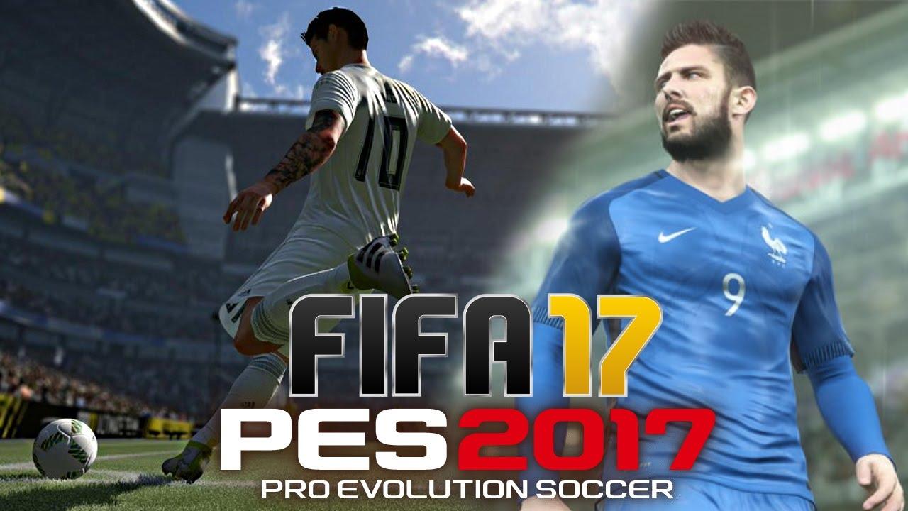FIFA 17 PES 17